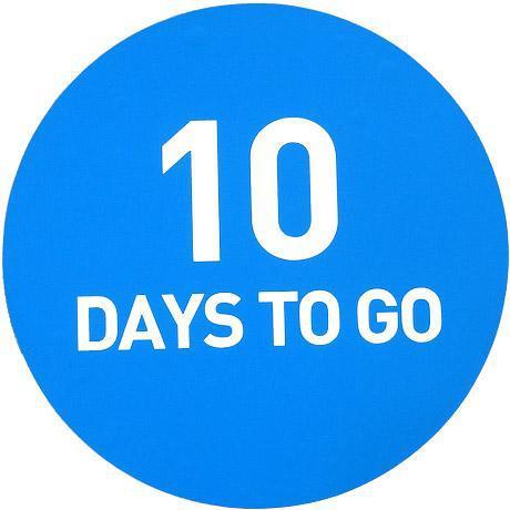 10 days to go