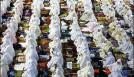 Muslim pray in jamat