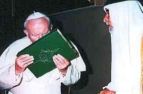 pope accept islam